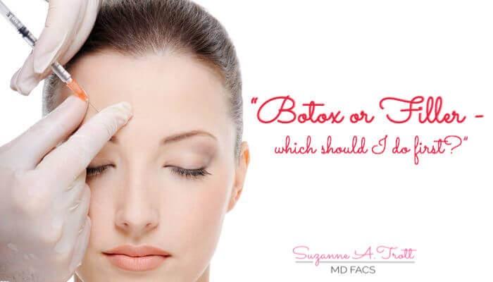 Botox or Filler?